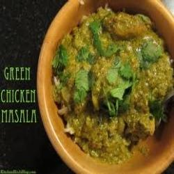 Green+Chicken+Masala