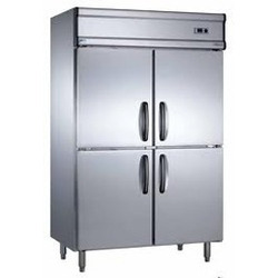 Stainless Steel Freezer Four Door