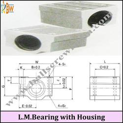 Linear Motion Bearing With Housing