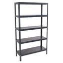 slotted angle metal rack