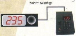 Token Display With Voice 3 Digit Segment