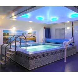 Swimming pool designing services in india for Indoor swimming pool construction