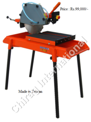 mobile marble brick cutting machine