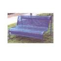 Perforated Picnic Bench
