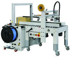 Automatic Strapping & Tapping Machine