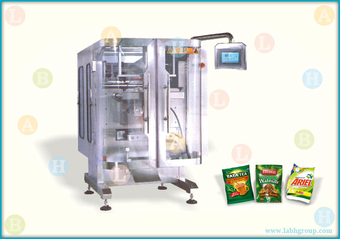 Automatic Form Fill and Seal Bag Packaging Machinery