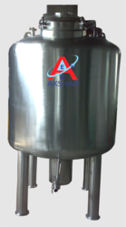 Jacketed Stainless Steel Storage Vessels
