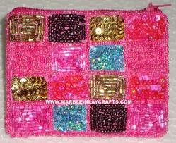 fancy embroidered purse