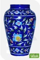 Vaah Blue Pottery Flower Pot