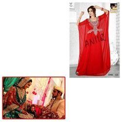 Red Farasha for Wedding