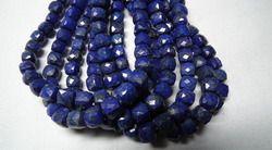 Lapis Lazuli Faceted 3d Cubes