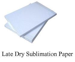 Late Dry Sublimation Transfer Paper