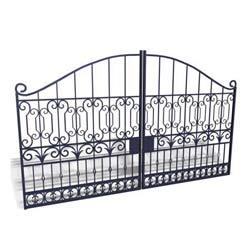 Wrought Iron Main Gate