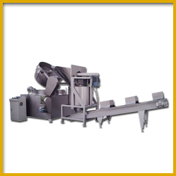 Continuous Frying Machine for Crunchy Corn Production