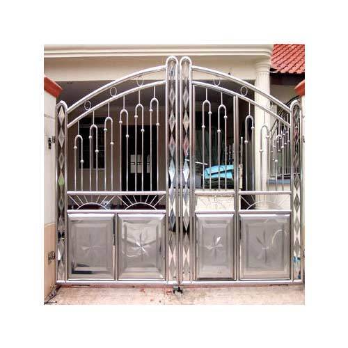 Stainless Steel Gates   Stainless Steel Security Gates Manufacturer From  Mumbai