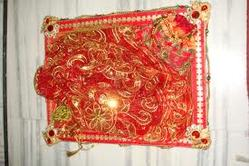 Saree Packing Tray with Red Color