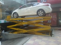 Car Scissor Stationary Lift