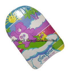 care bear design swim kickboard for kids