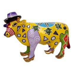 Handicraft Decorative Cow
