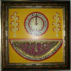 Half Moon Tribal Frame with Watch Wall Decor Corporate Gifts