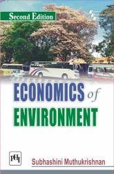 economics of environment second edition by muthukrishnan