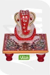Vaah Marble Ganesh Chowki