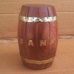 Traditinal Wooden Money Box