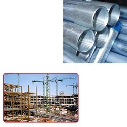 Galvanised Pipes for Construction Industry