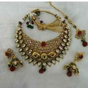Imitation Diamond Necklace Set