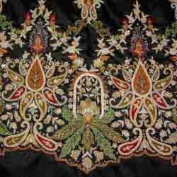 Zardosi Embroidered Design