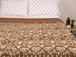 New Ikat Kantha Bed Cover