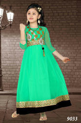 Kids Green Gown