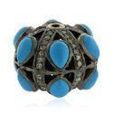 Diamond Gemstone Beads Findings