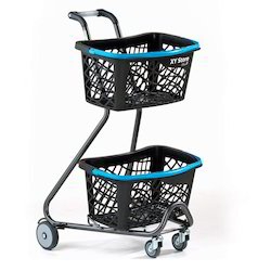 Japanese Style Shopping Trolley 01