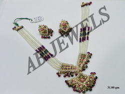 Jadau Necklaces (Gemstone Necklace)