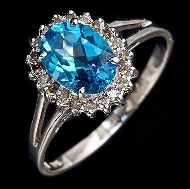 diamond oval ring