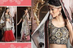 Beautiful Designer Lehenga Choli Embroidered Work