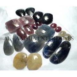 ruby sapphire cut stones