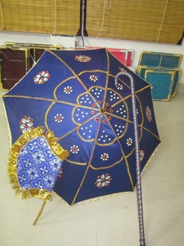 Kasi Yathra Decorated Wedding Umbrella