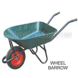 single wheeled wheelbarrow