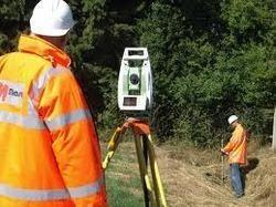 land survey work