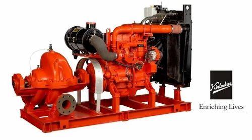 Fire Fighting Pumps Diesel Engine Driven Main Pump