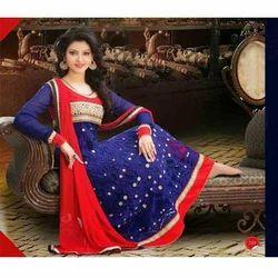 Embroidered Designer Anarkali Dress