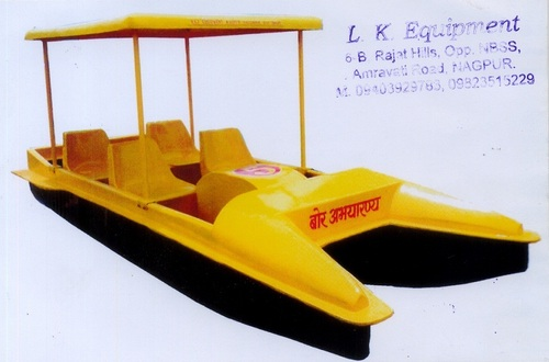 Fibre Paddle Boat