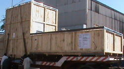 Assets Packed and Moved On Trailers