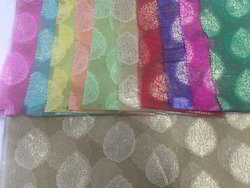 Chiffon Jacquard Sharadha Fabric