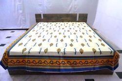 Cotton Hand Block Bed Sheet