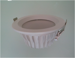 round recessed platinum series led down light