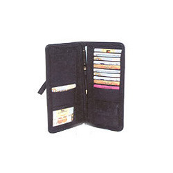 Black Leather Organizer