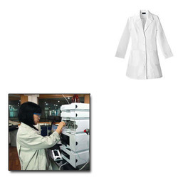 Non Woven Lab Coat for Chemical Industries